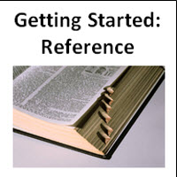 Get Started: Reference