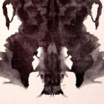 Manipulated Rorschach Image