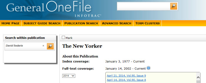 Search Within this Publication