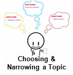 Choosing and Narrowing a Topic