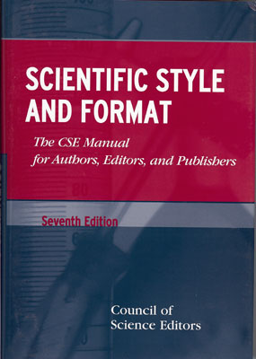 Front cover of CSE Style Manual