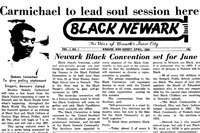 news article from Black Newark, 1968