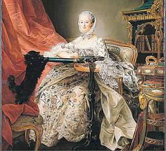 Mme de Pompadour, 1764 by Francois-Hubert Drouais