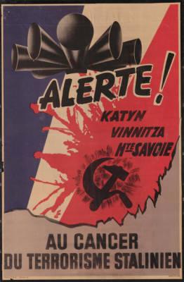 anti-soviet poster, 1941