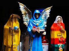 Santeria figures, Mexico