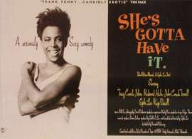 movie poster for She's Gotta Have It