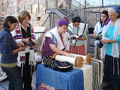 Women of the Wall read Torah