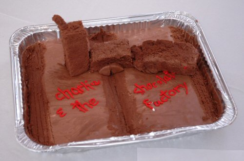 Edible Books - Charlie and the Chocolate Factory