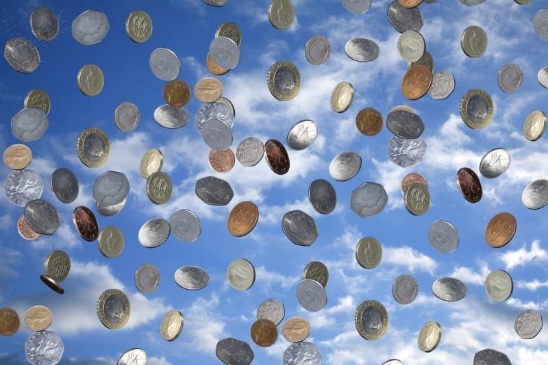 Coin Shower