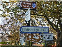 overload, road sign posts