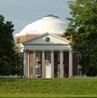 The Rotunda was the original U.Va. library.