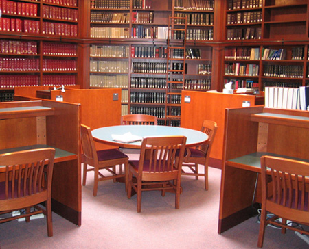 Drake Law Library tax room