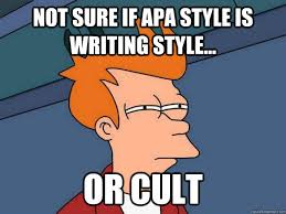 Funny APA Picture