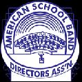 American School Band Directors Association logo