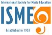 International Society for Music Education logo