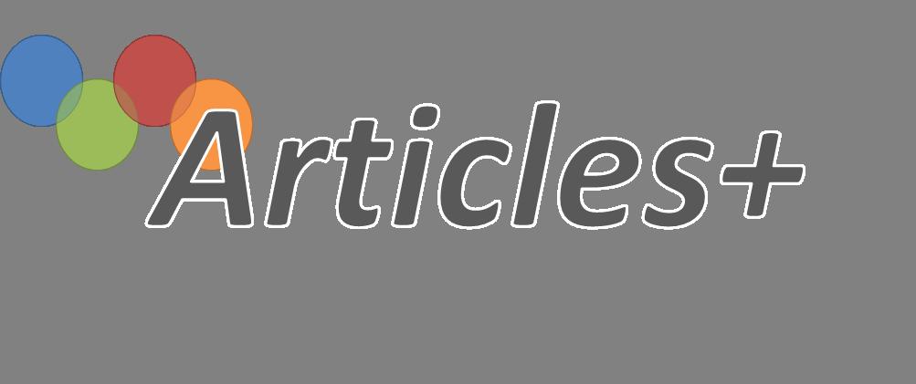 Articles+
