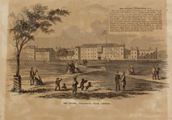 The Old Citadel 1857 at Marion Square, Charleston, SC
