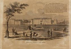 The Old Citadel 1857 at Marion Square, Charleston, SC