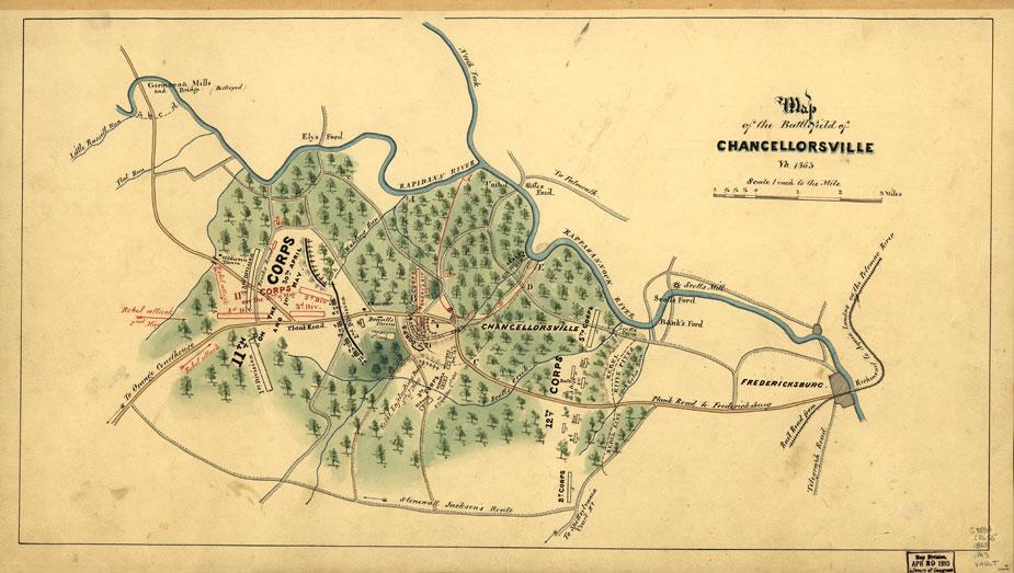LOC - chancellorsville battlefield