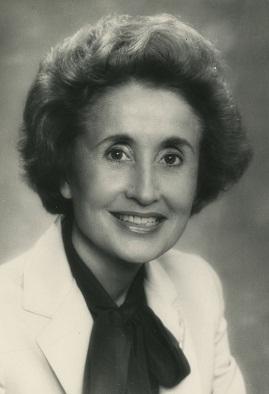 Portrait of Juanita M. Kreps circa 1972