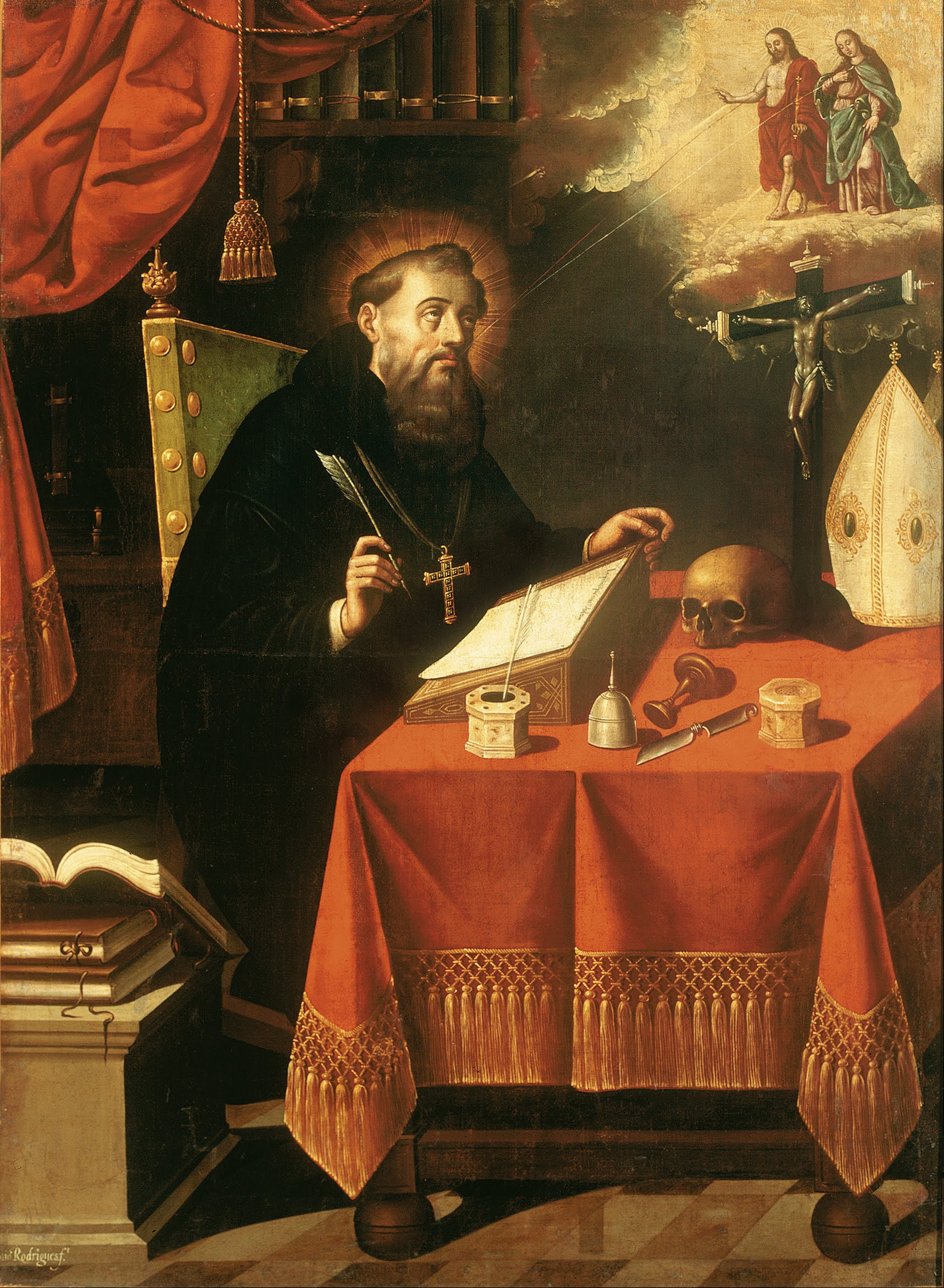 Painting of St. Augustine