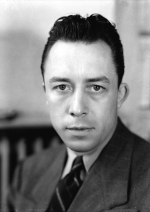 photograph of Albert Camus