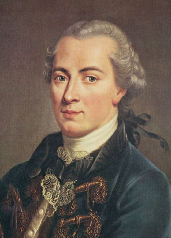 Painting of Immanuel Kant