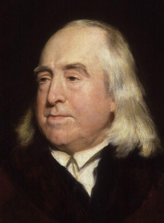 painting of Jeremy Bentham