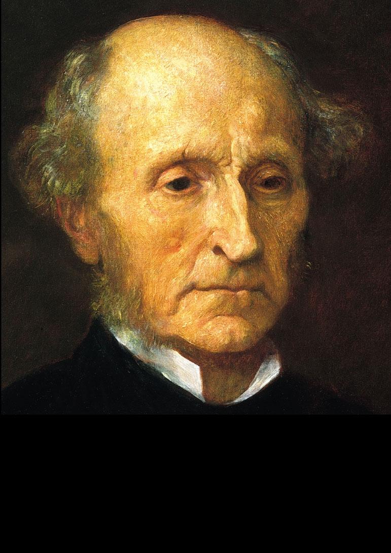 Painting of John Stuart Mill