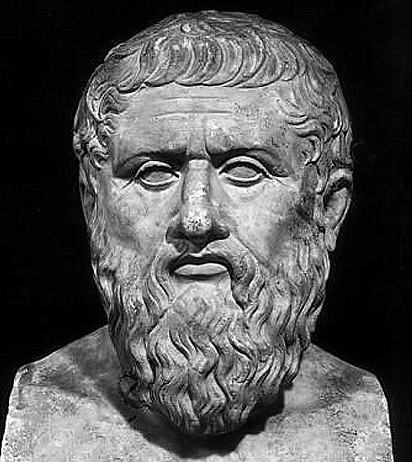 image of bust of Plato