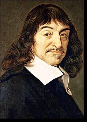 Painting of Rene Descartes
