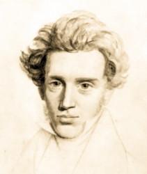 Sketch of Soren Kierkegaard