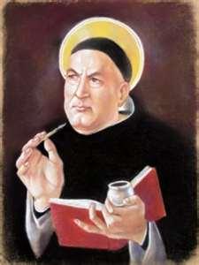 Painting of Thomas Aquinas