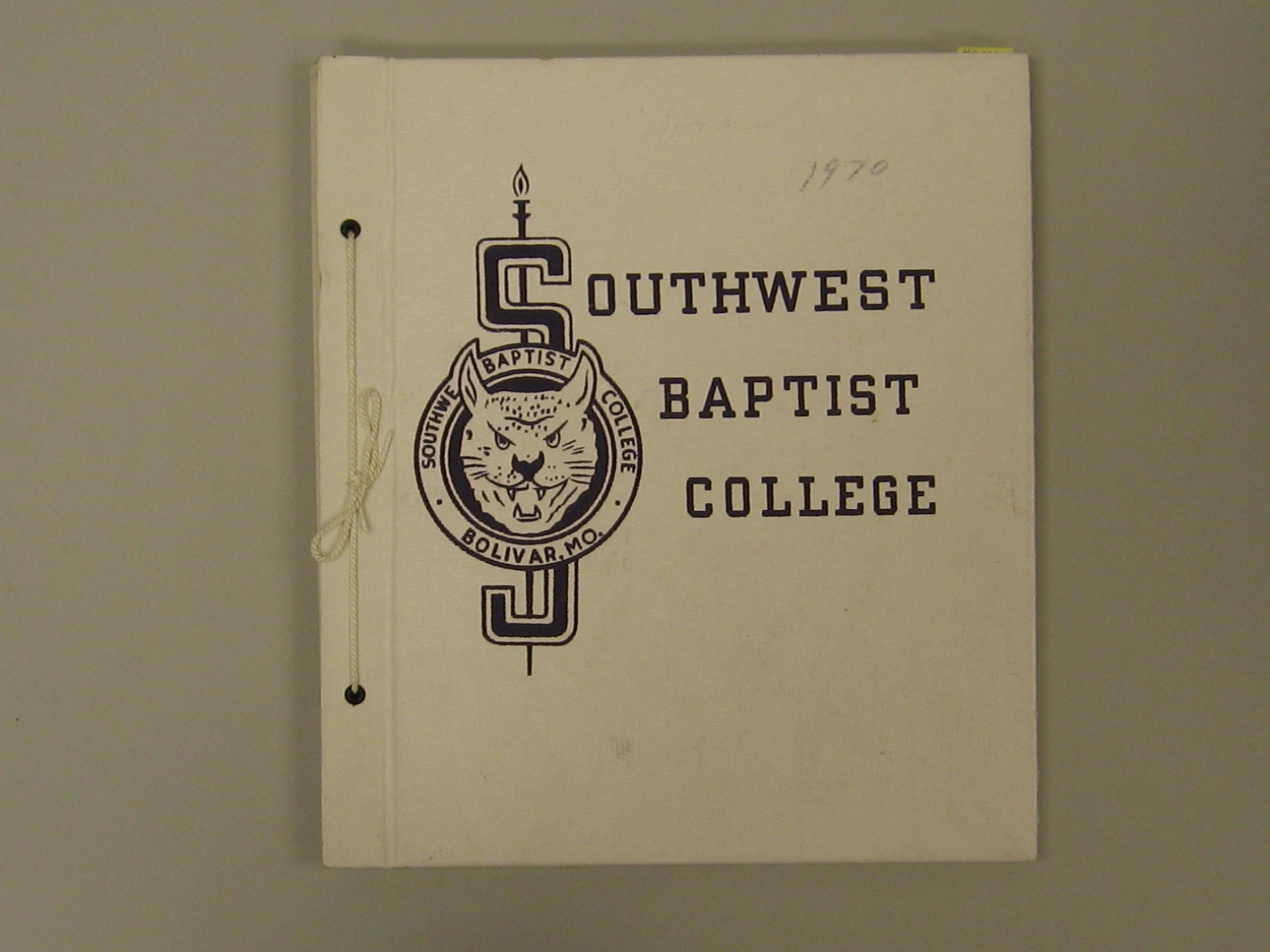 front of scrapbook