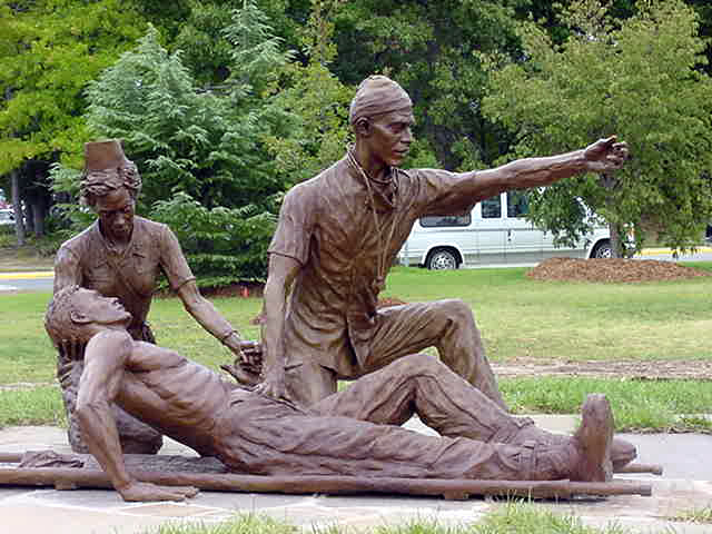 65th general hospital scuplture