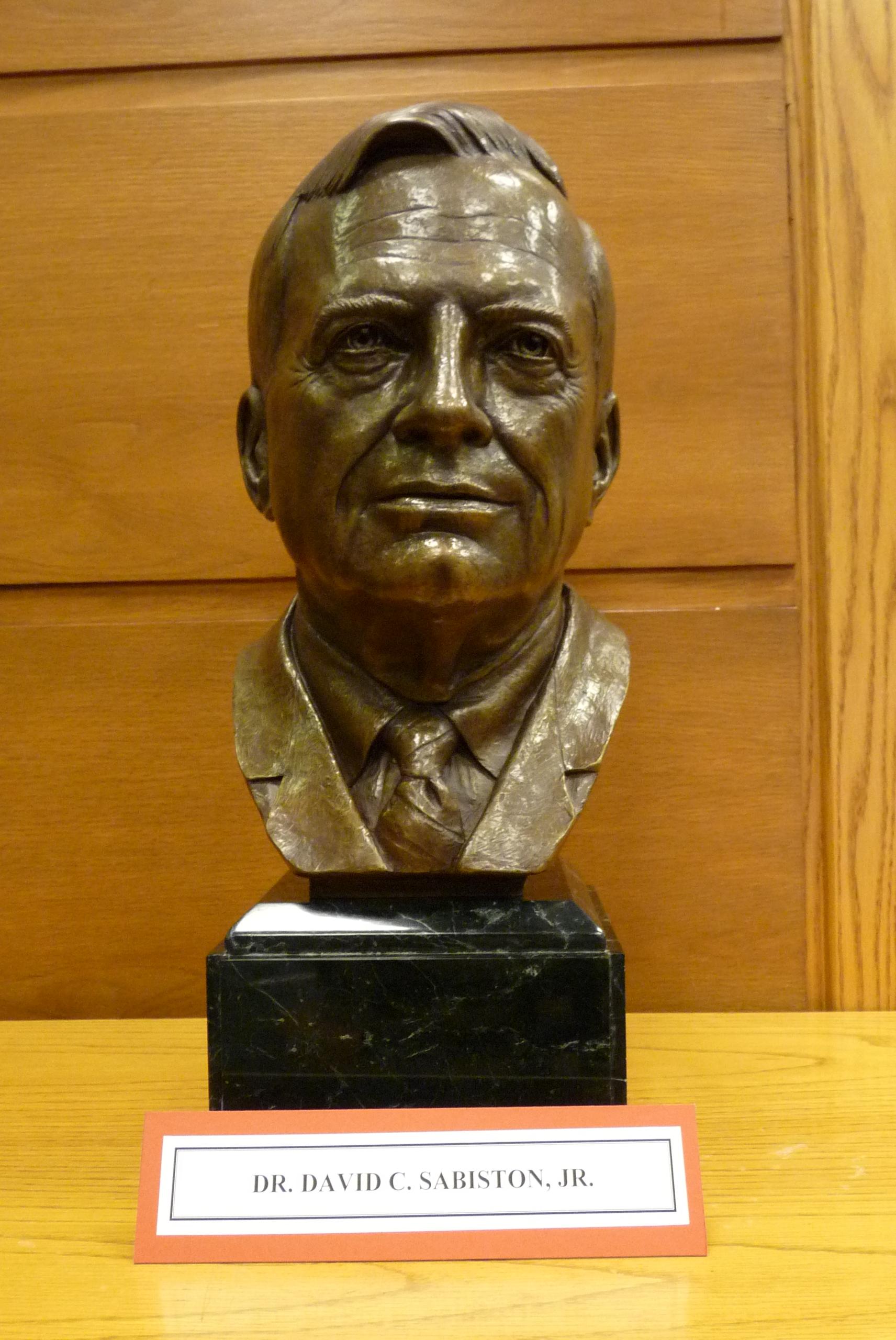 Sabiston bust