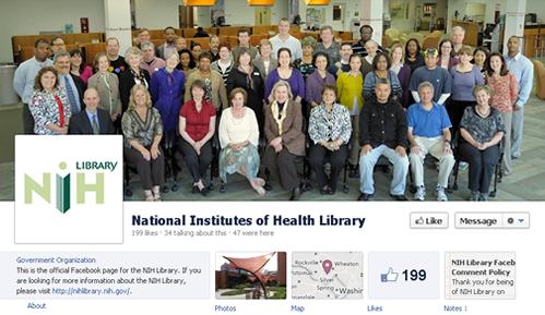 NIH Facebook Brand Page