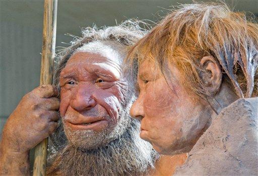 Neanderthal couple
