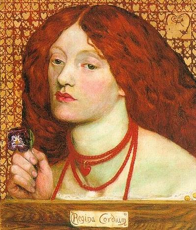 Regina Cordium painting by Dante Gabriel Rossetti
