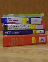 Stack of Citation Style Books