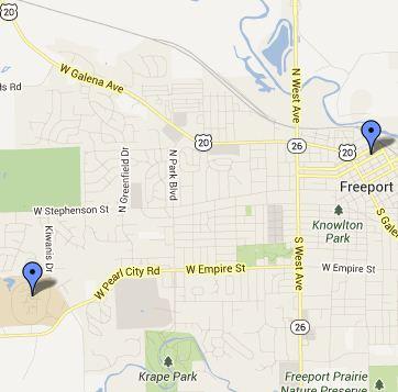 Freeport Small Map