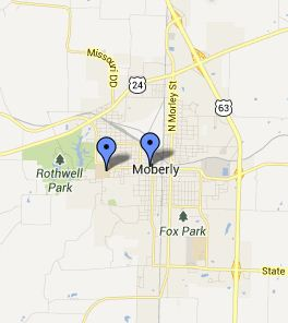 Moberly Small Map