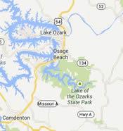 map of Osage Beach