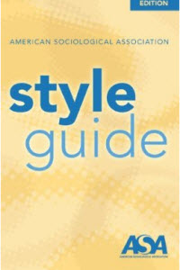 ASA Style Guide