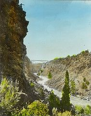 Crooked River Bridge on Trunk Railway, Jefferson County OR from OSU Archives