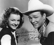 Picture of Dale Evans and Roy Rogers