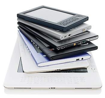 Image of e-reader devices