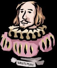 Shakespeare Cartoon Image
