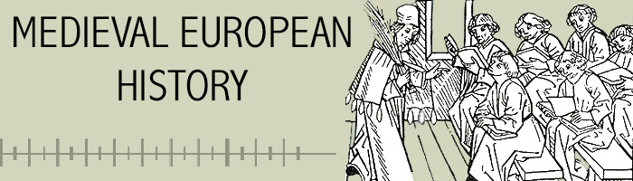 Medieval European history banner