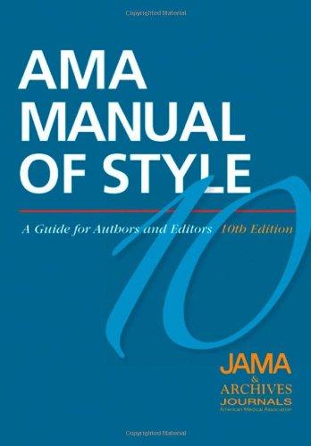 image of AMA Style manual